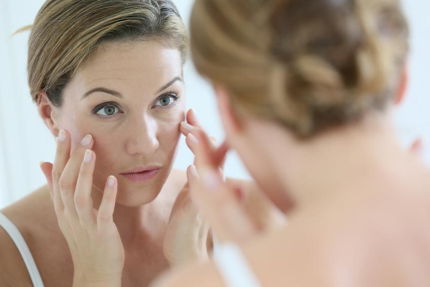 Hautpflege gegen Falten