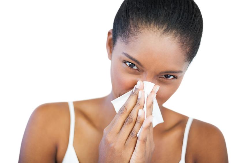 Trockene Haut Nase