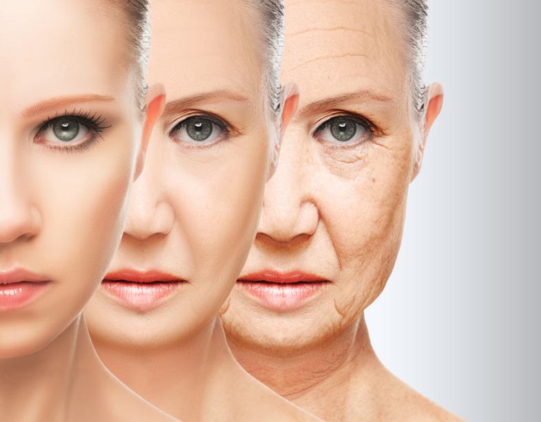 Hautalterung verhindern anti-aging