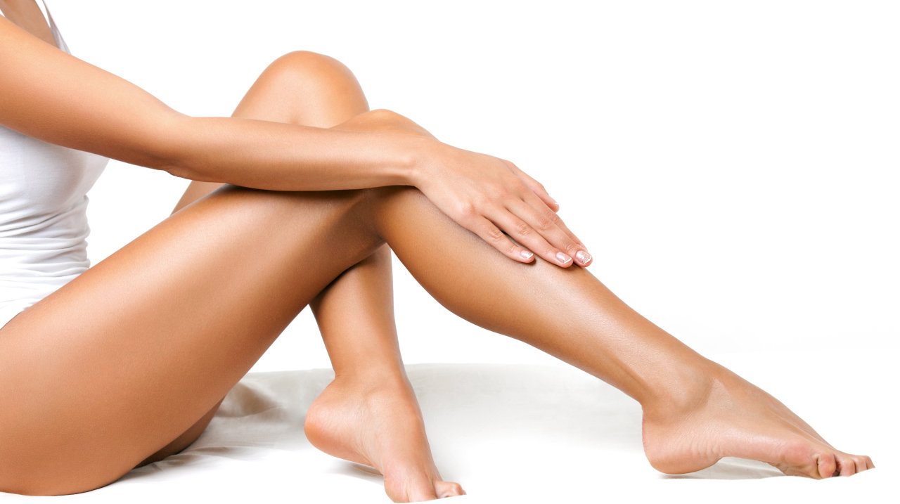 Schöne Beine pflegen
